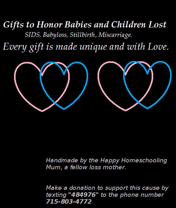 Free Gifts for Parents of Baby and Child Loss